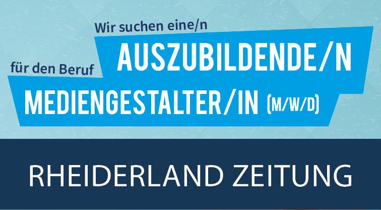 Rheiderland Zeitung | Ausbildung zum Mediengestalter (m/w/d)